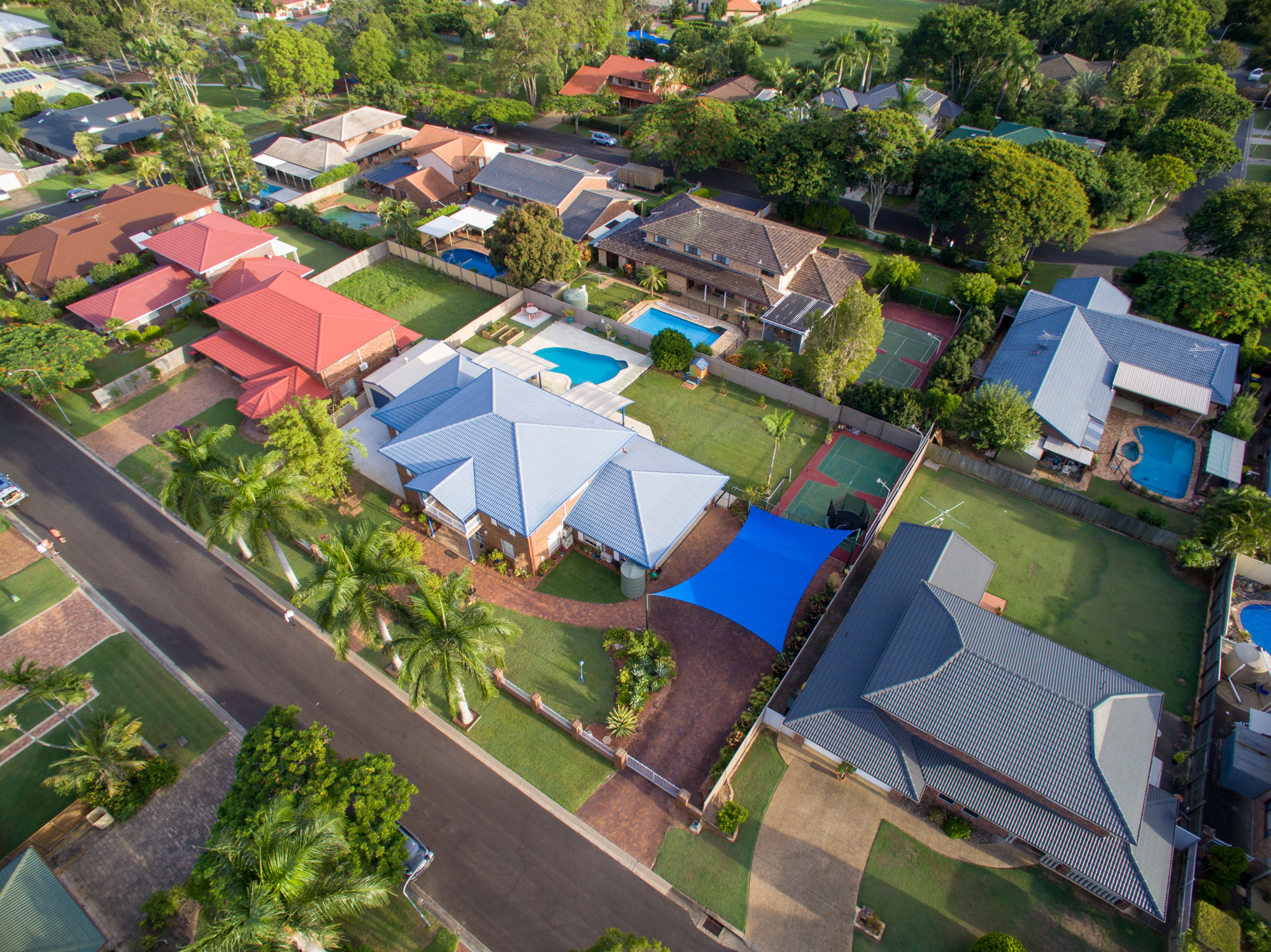 real estate video aerial photography